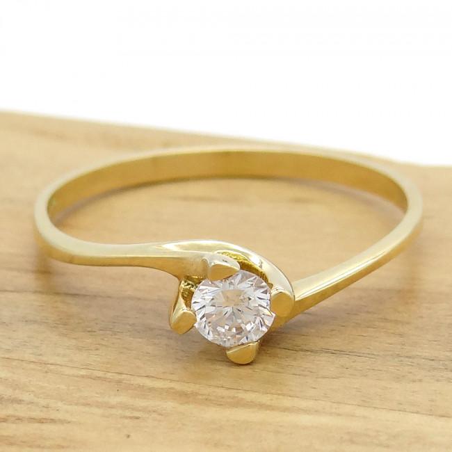 6bea3f395bad2 Anel Solitário com Diamante de 20 Pontos